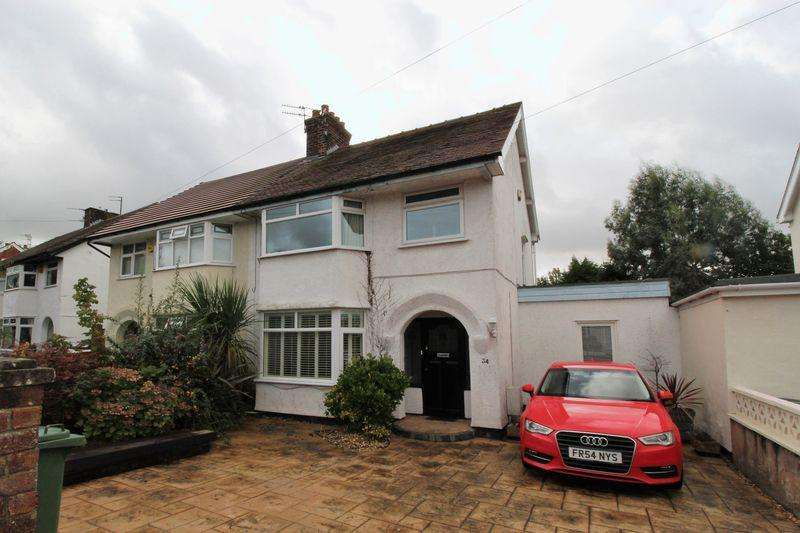 3 Bedrooms Semi Detached House for sale in Downham Drive, Heswall