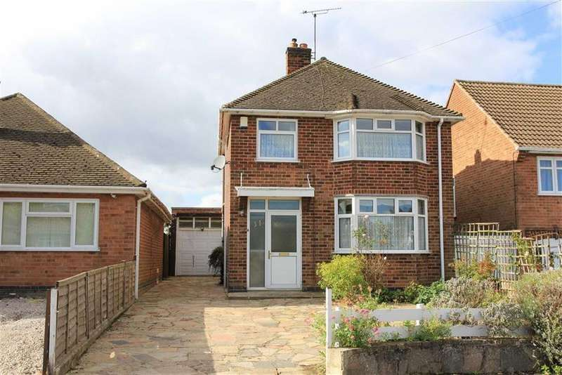 3 Bedrooms Detached House for sale in Hall Road, Scraptoft, Leicester