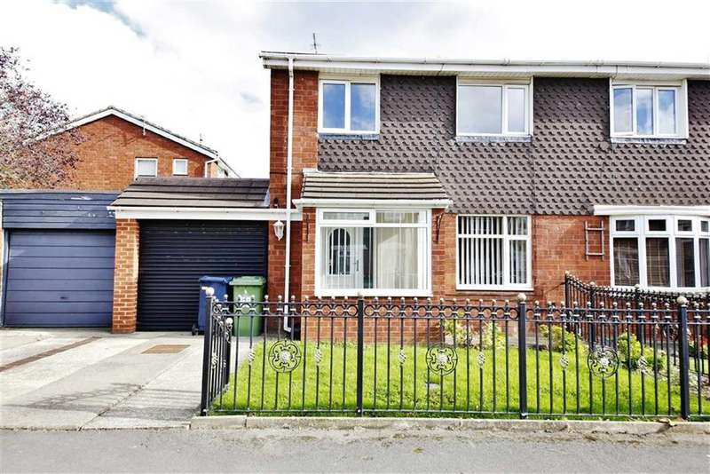 3 Bedrooms Semi Detached House for sale in Gayhurst Crescent, Mill Hill, Sunderland, SR3
