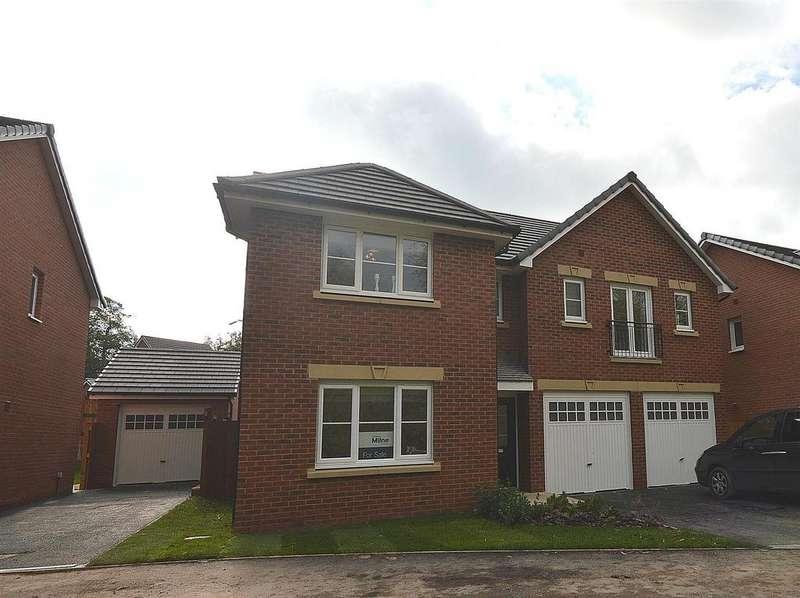 5 Bedrooms Detached House for sale in Winterley Gardens, Crewe Road, Winterley