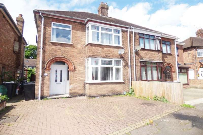 3 Bedrooms Semi Detached House for sale in Edwalton Avenue, West Town, Peterborough, PE3