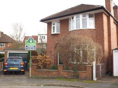 3 Bedrooms Detached House for sale in Pelham Crescent, Beeston, Nottingham