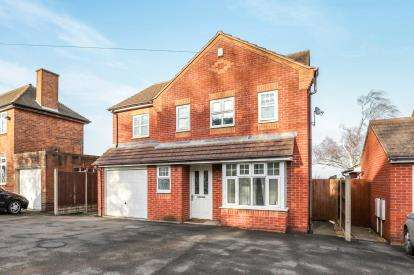 4 Bedrooms Detached House for sale in Watling Street, Atherstone, Warwickshire