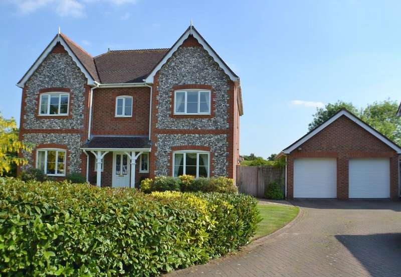5 Bedrooms Detached House for sale in Cavendish Way, Holmes Chapel
