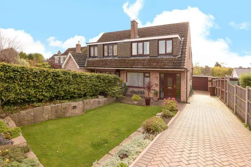 3 Bedrooms Semi Detached House for sale in CHURCH LANE, HORSFORTH, LS18 5LB