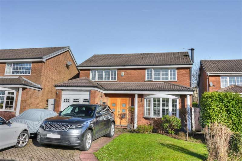 4 Bedrooms Detached House for sale in Brentwood Close, Smithy Bridge, OL15 0ND