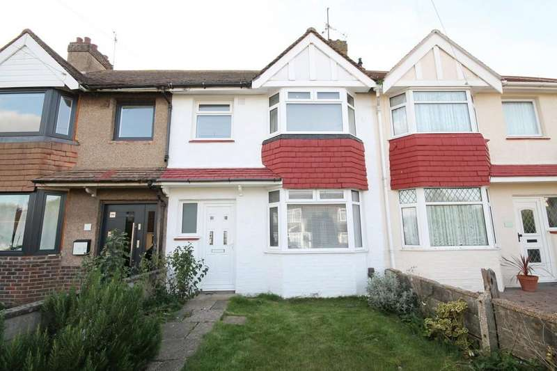 3 Bedrooms Terraced House for sale in Hillrise Avenue, Sompting, BN15