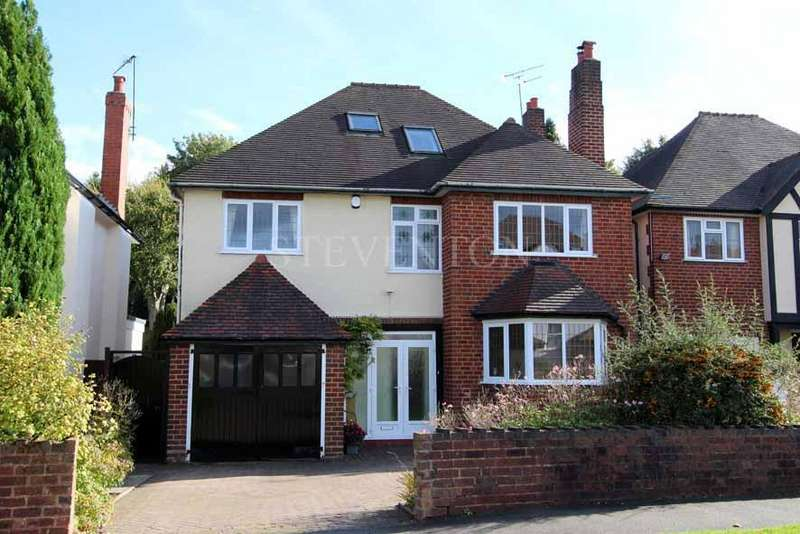 5 Bedrooms Detached House for sale in York Avenue, Finchfield, Wolverhampton, WV3