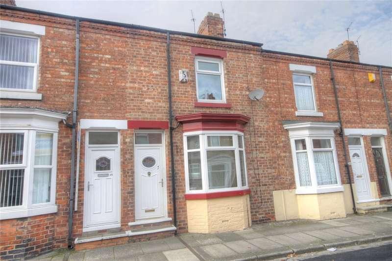 2 Bedrooms Terraced House for sale in Bartlett Street, Darlington, DL3