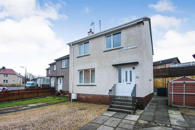 3 Bedrooms End Of Terrace House for sale in Millar Place, High Bonnybridge