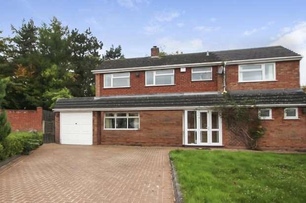 4 Bedrooms Detached House for sale in Glen Court, Wolverhampton, West Midlands, WV3 9JW