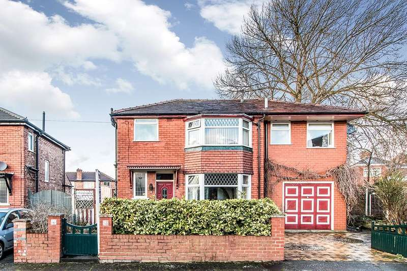 4 Bedrooms Detached House for sale in Dartford Avenue, Eccles, Manchester, M30