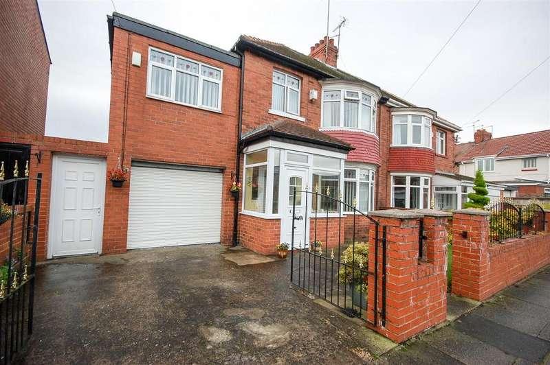 5 Bedrooms Semi Detached House for sale in St. Gabriels Avenue, St Gabriels Estate Sunderland