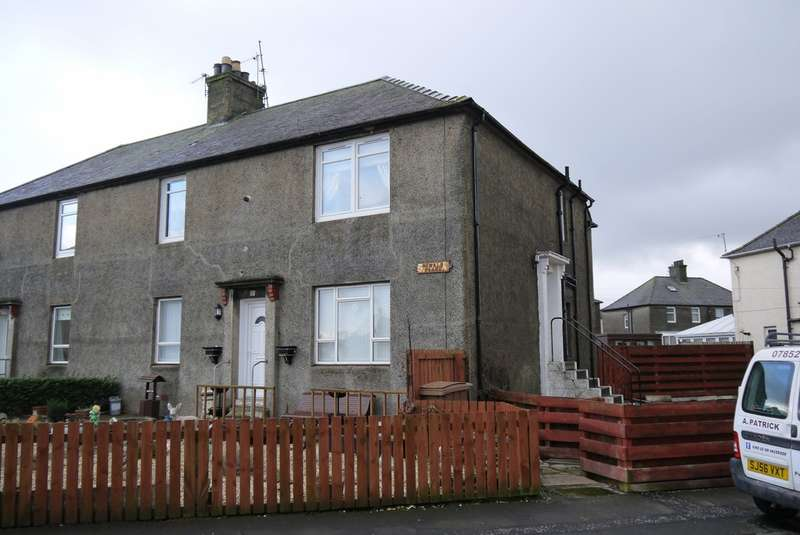 2 Bedrooms Flat for sale in Oswald Place, Ayr, KA8