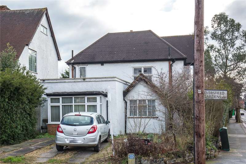 3 Bedrooms Detached House for sale in Lyndhurst Avenue, Mill Hill, London, NW7
