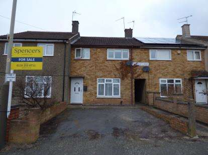 3 Bedrooms Terraced House for sale in Monmouth Drive, Eyres Monsell, Leicester, Leicestershire