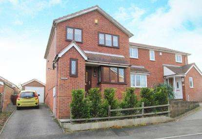 3 Bedrooms Semi Detached House for sale in Emmett Carr Drive, Renishaw, Sheffield, Derbyshire