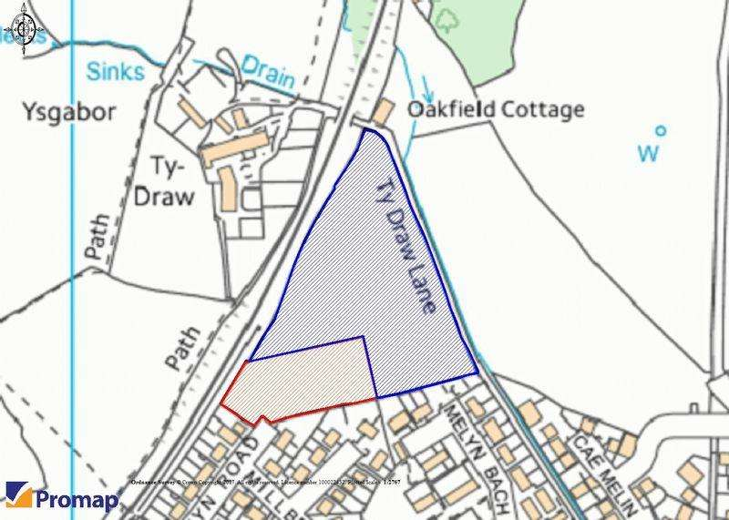 Land Commercial for sale in Potential Development land at Ty Gwyn Road