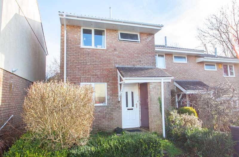 2 Bedrooms End Of Terrace House for sale in Woolwell, Plymouth