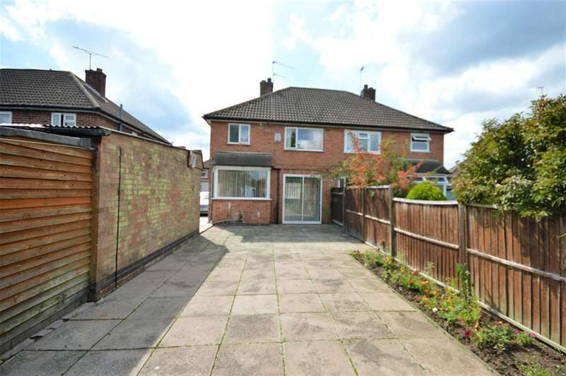 3 Bedrooms Semi Detached House for sale in Repton Road, Wigston, LE18 1GD