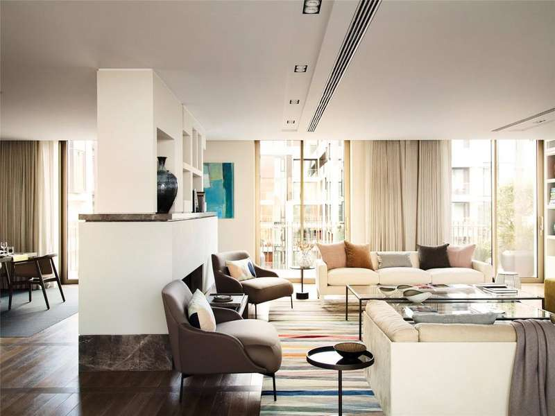3 Bedrooms Penthouse Flat for sale in Fitzroy Place, 4 Pearson Square, Fitzrovia, London, W1T
