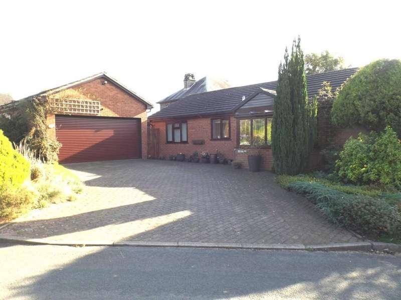 2 Bedrooms Detached Bungalow for sale in Grove Crescent, Woore