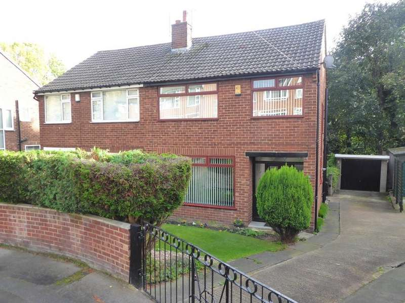 3 Bedrooms Semi Detached House for sale in Rosemont Drive, Pudsey