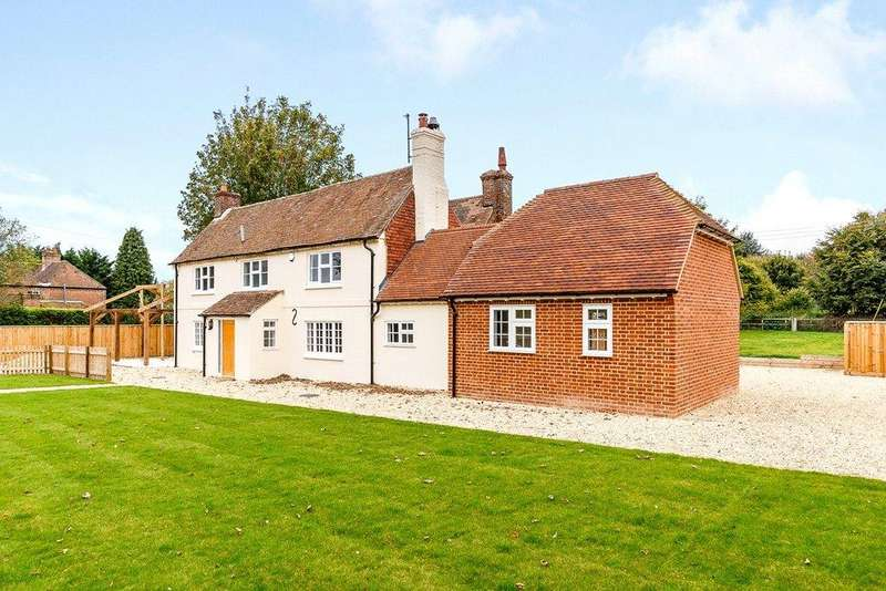 5 Bedrooms Detached House for sale in Worlds End, Beedon, Newbury, RG20