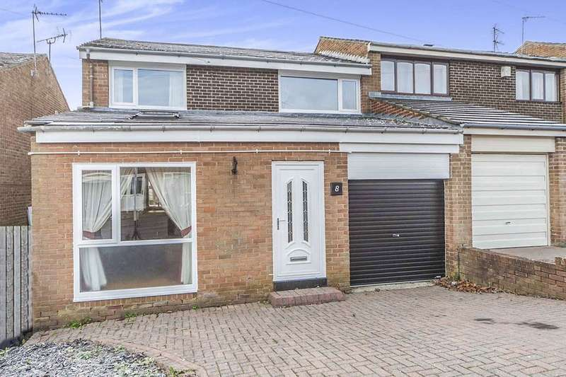 4 Bedrooms Semi Detached House for sale in Blanchland Avenue, Durham, DH1