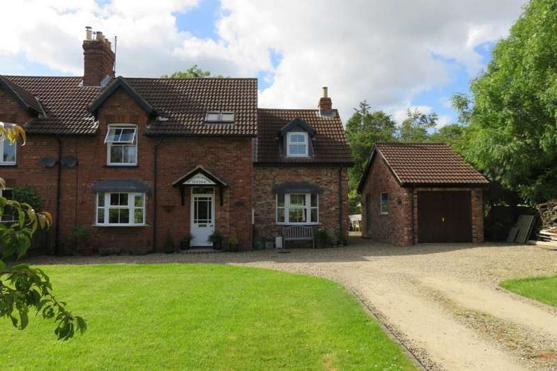 4 Bedrooms Semi Detached House for sale in Buttercrambe Cottage, West Lutton, YO17 8TA