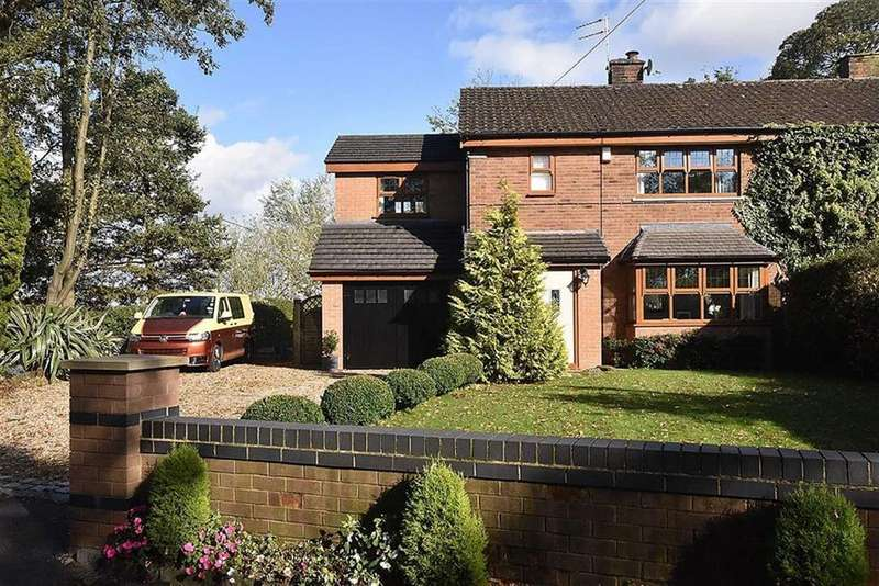 3 Bedrooms Semi Detached House for sale in Faulkners Lane, Mobberley