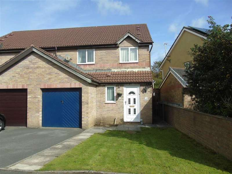 3 Bedrooms Semi Detached House for sale in Llwyncyfarthwch, Coedcae, Llanelli