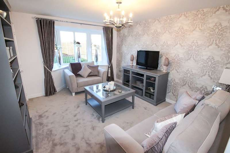 3 Bedrooms Semi Detached House for sale in The Rathmell Central Avenue, Liverpool, L24