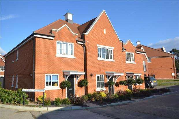 3 Bedrooms Terraced House for sale in Swallowtail Grove, Frimley, Camberley