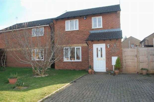 3 Bedrooms Detached House for sale in Aquitaine Close, Duston, Northampton NN5 6EP