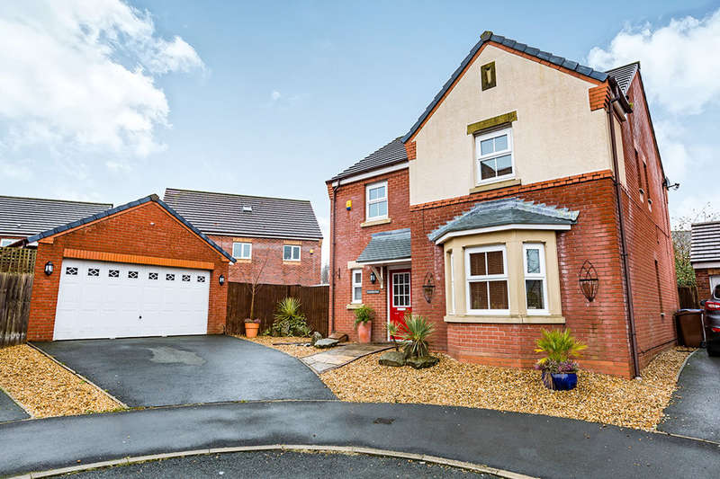4 Bedrooms Detached House for sale in Yorkshire Close, Buckshaw Village, Chorley, PR7