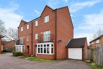 4 Bedrooms Semi Detached House for sale in Glassbrook Road, Rushden, Northamptonshire, NN10 9TG