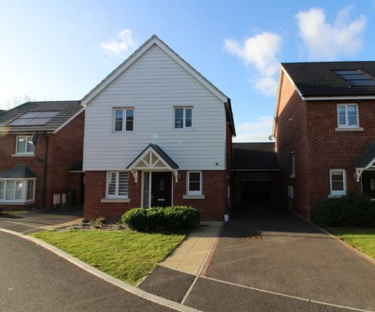 3 Bedrooms Link Detached House for sale in Holmes Meadow, Redhouse Park, Milton Keynes,