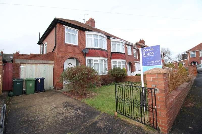 3 Bedrooms Semi Detached House for sale in Plantation Grove, Bill Quay, Gateshead, NE10