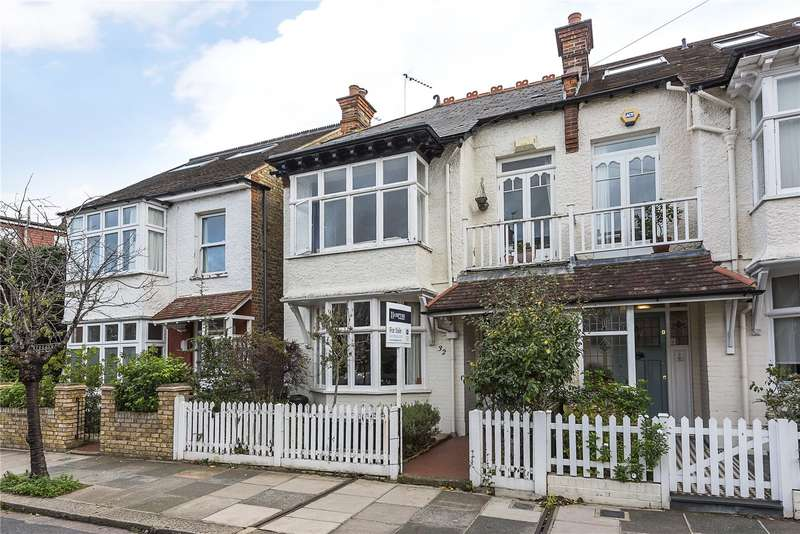 4 Bedrooms Terraced House for sale in Portman Avenue, London, SW14