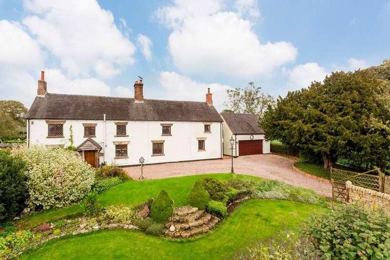 4 Bedrooms Detached House for sale in Bradley Corner, Ashbourne