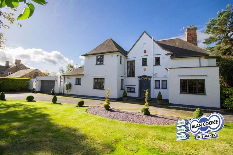 5 Bedrooms Detached House for sale in Sandmoor Drive, Alwoodley