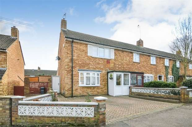 2 Bedrooms End Of Terrace House for sale in Hillview Gardens, Cheshunt, WALTHAM CROSS, Hertfordshire