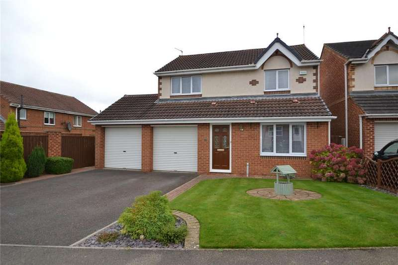 3 Bedrooms Detached House for sale in Balmoral Drive, Peterlee, Co.Durham, SR8