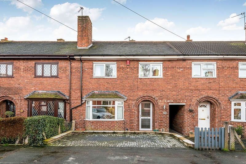 3 Bedrooms Terraced House for sale in York Street, Stone, ST15