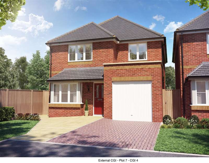 4 Bedrooms Detached House for sale in Forest Drive, Rickerscote Road, Stafford