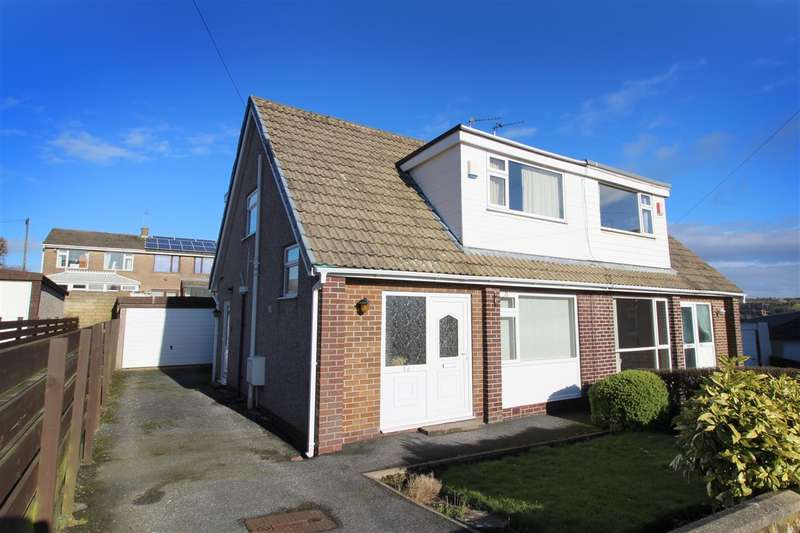 3 Bedrooms Semi Detached House for sale in Eastwood Avenue, Illingworth, Halifax