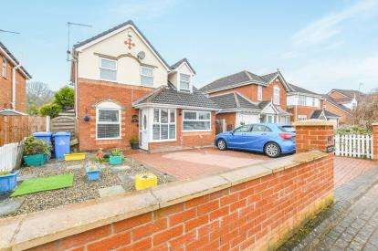 4 Bedrooms Detached House for sale in Newmoore Lane, Sandymoor, Runcorn, Cheshire, WA7