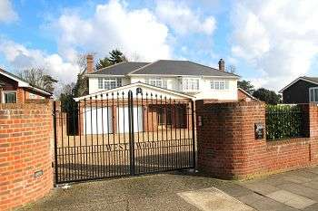5 Bedrooms Detached House for sale in St Georges Road West, Bickley, Bromley, Kent, BR1 2NP
