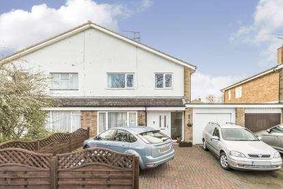 3 Bedrooms Semi Detached House for sale in Vallansgate, Stevenage, Hertfordshire, England